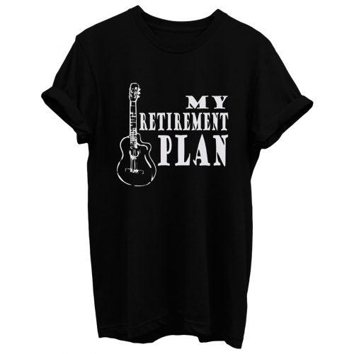 Guitar Retirement Music T Shirt