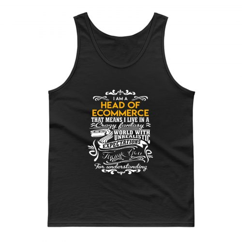 Head Of Ecommerce Tank Top
