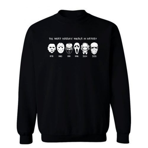 Horror Masks Sweatshirt