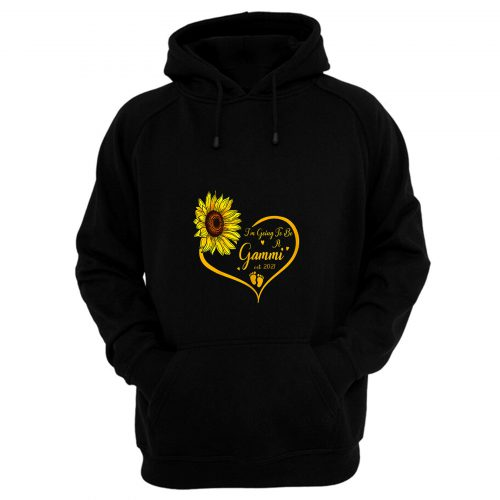 Im Going To Be A Gammi Promoted To Grandma Est 2021 Hoodie