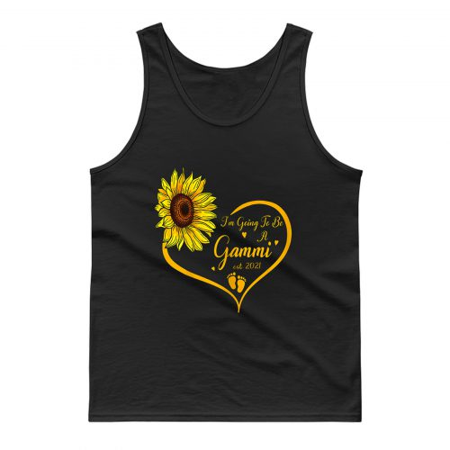Im Going To Be A Gammi Promoted To Grandma Est 2021 Tank Top