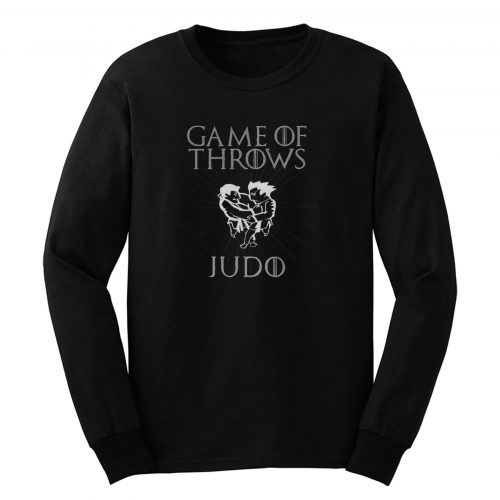 Judo Game Of Throws Long Sleeve