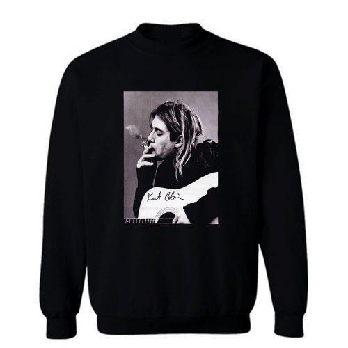 Kurt Cobain Rock Singer Sweatshirt