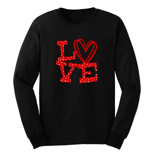 Love Xoxo Valentine Day Long Sleeve