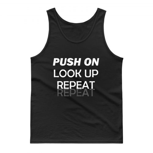 Motivational Uplifting Quote Tank Top