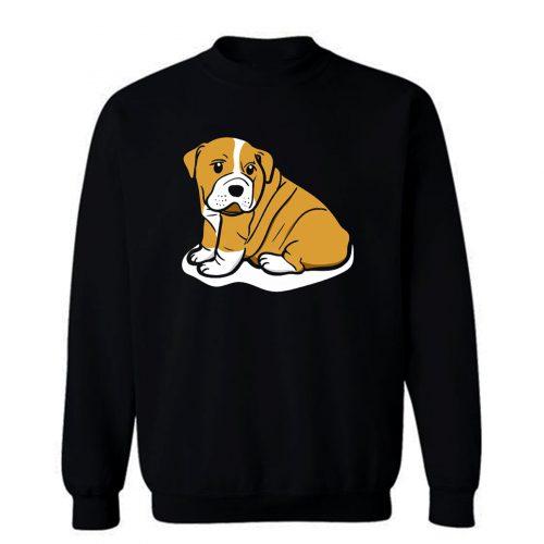 My Dog Looking To The Side Sweatshirt
