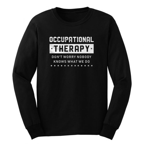 Occupational Counselor Long Sleeve