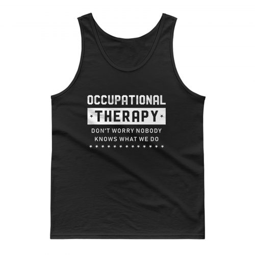 Occupational Counselor Tank Top