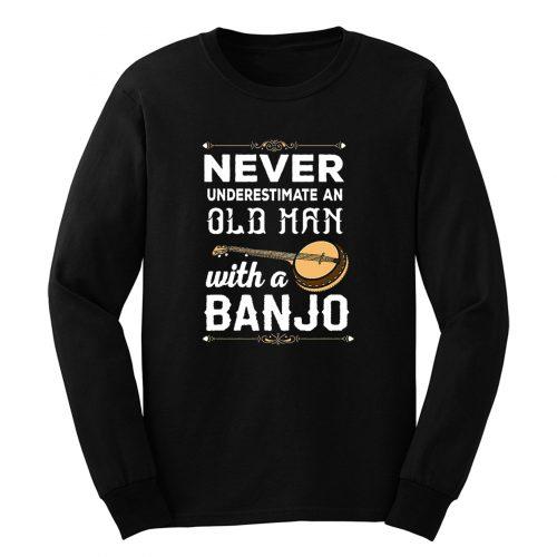 Old Man Banjo Long Sleeve