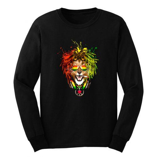 One Love Rasta Lion Long Sleeve