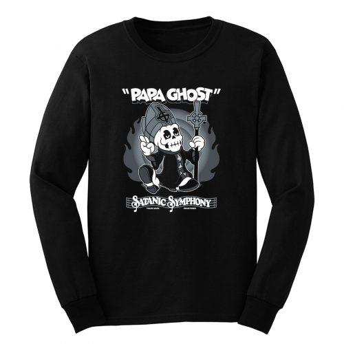 Papa Ghost Long Sleeve