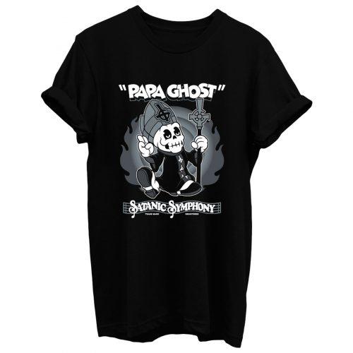 Papa Ghost T Shirt