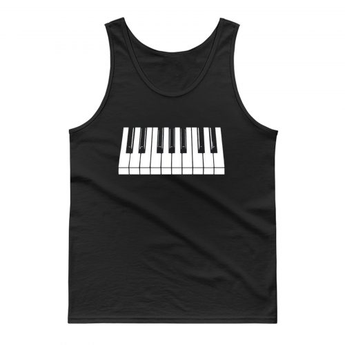Piano Keys Tank Top