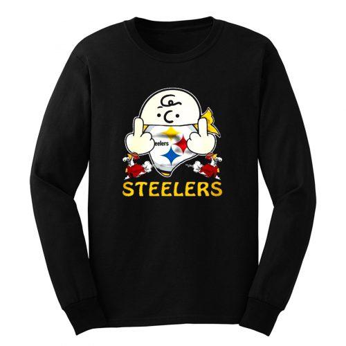 Pittsburgh Steelers Snoopy Long Sleeve