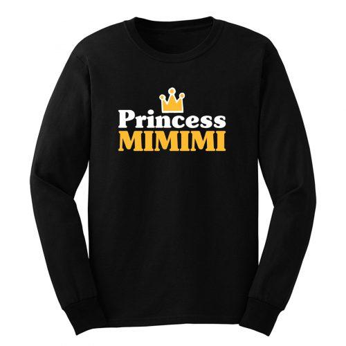 Princess Mimimi Crown Statement Long Sleeve
