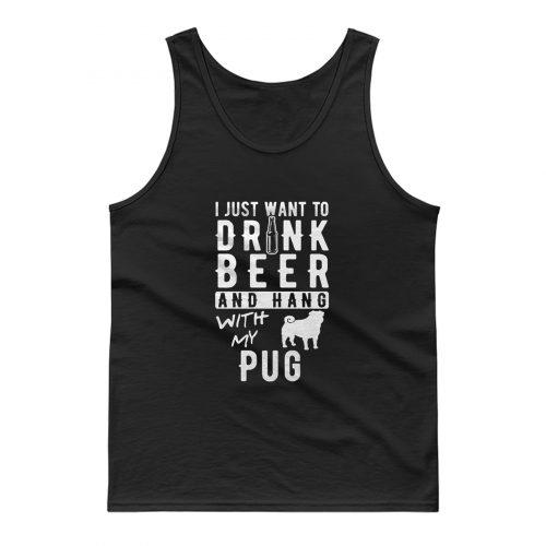 Pug Beer Tank Top