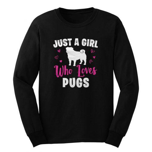 Pug Girl Long Sleeve