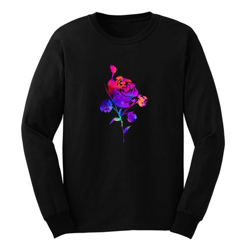 Rainbow Rose Long Sleeve