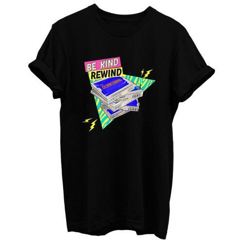 Retro Vhs Rewind Premium T Shirt