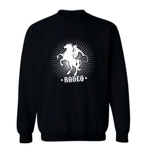 Rodeo Cowboy Hat Sweatshirt