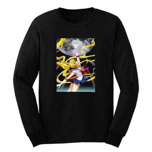 Sailor Moon Crystal Anime Space Long Sleeve