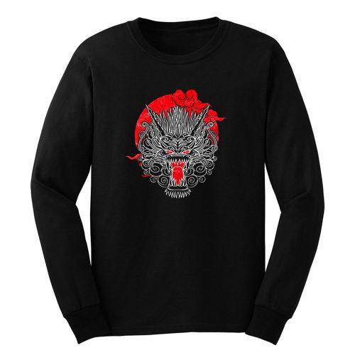 Samurai Dragons Head Long Sleeve