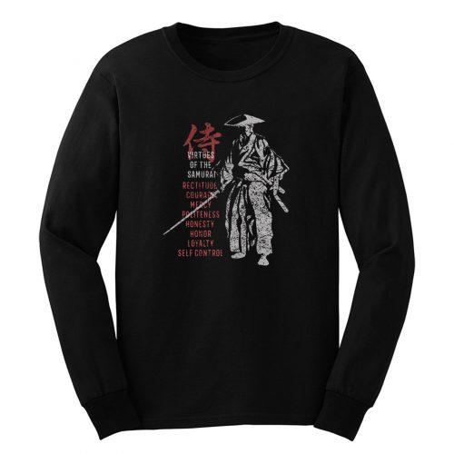 Samurai Virtues Long Sleeve