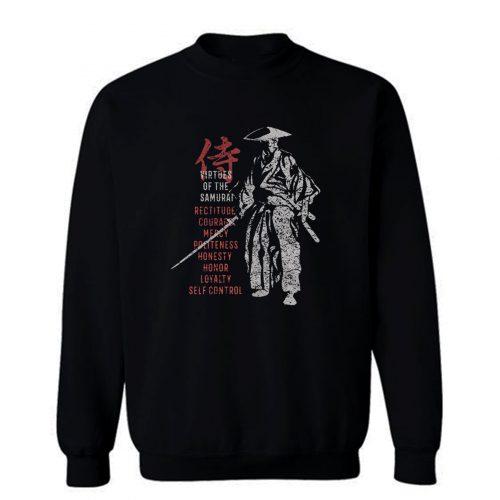 Samurai Virtues Sweatshirt