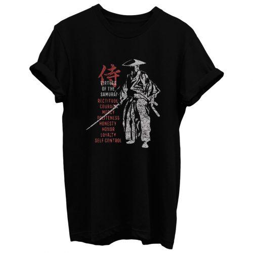 Samurai Virtues T Shirt