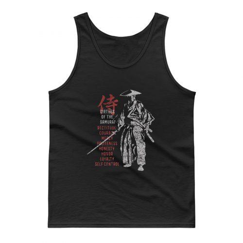 Samurai Virtues Tank Top