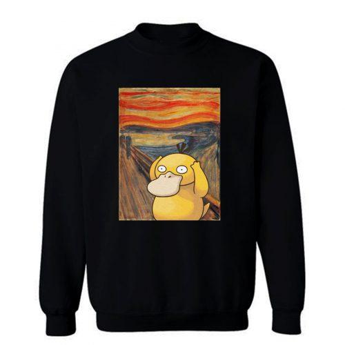 Screaming Psyduck Sweatshirt