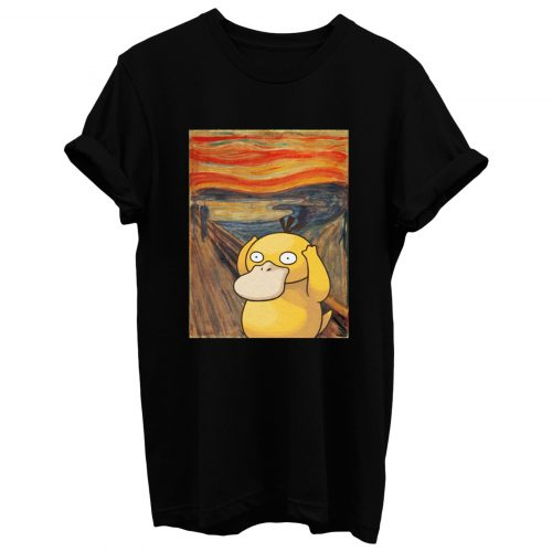 Screaming Psyduck T Shirt