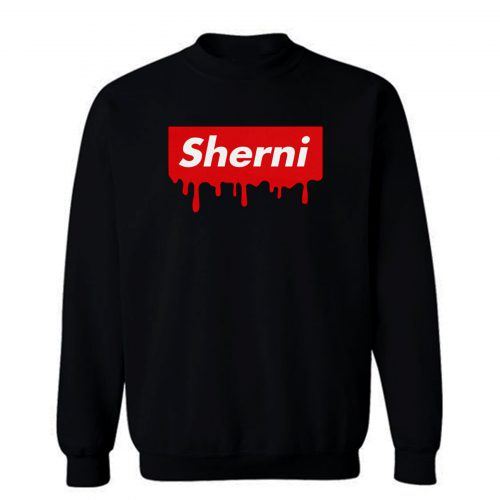 Sherni Red Blood Sweatshirt