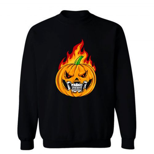 Smiling Pumpkin Sweatshirt