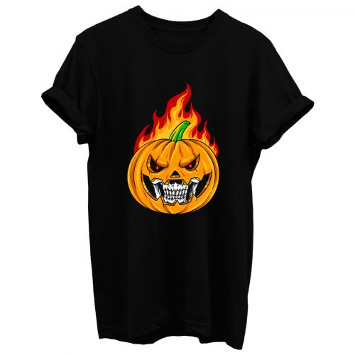 Smiling Pumpkin T Shirt