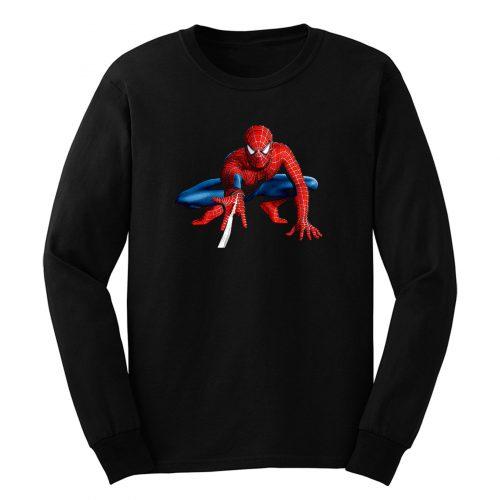 Spiderman Superhero Long Sleeve