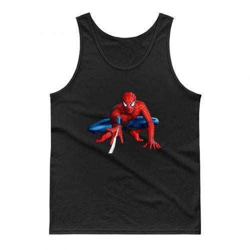 Spiderman Superhero Tank Top