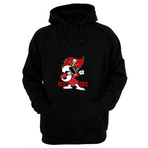 Tampa Bay Buccaneers Snoopy Hoodie