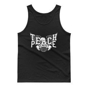 Teach Peace Sensei Tank Top