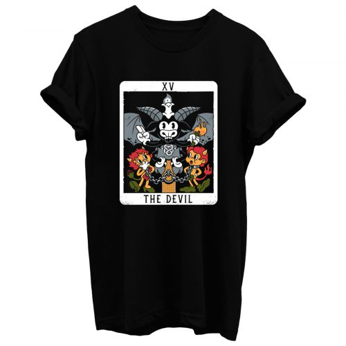 The Devil Xv Tarot Card Baphomet T Shirt