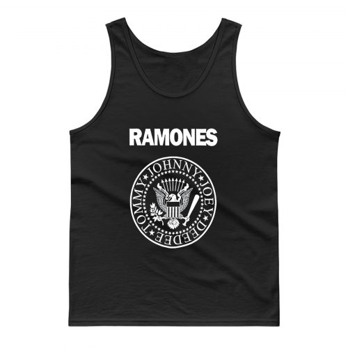 The Ramones Rock Band Seal Tank Top