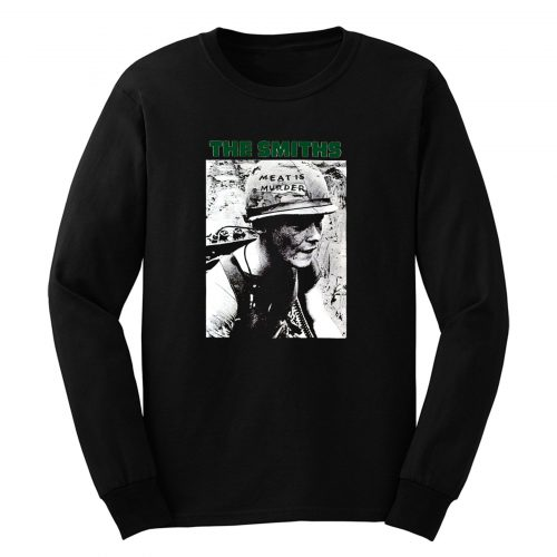 The Smiths Meat Is Murder Morrissey Long Sleeve