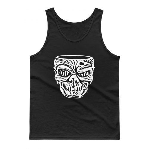 Tiki Zombie Head Tank Top