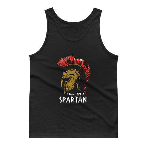 Train Like A Spartan Tank Top