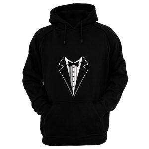 Tuxedo Fancy Dress Hoodie