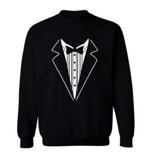 Tuxedo Fancy Dress Sweatshirt