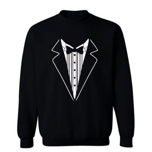 Tuxedo Fancy Dress Sweatshirt