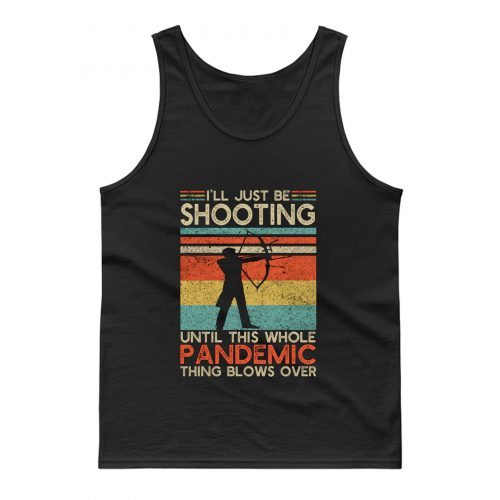 Vintage Bow And Arrow Shooting Tank Top