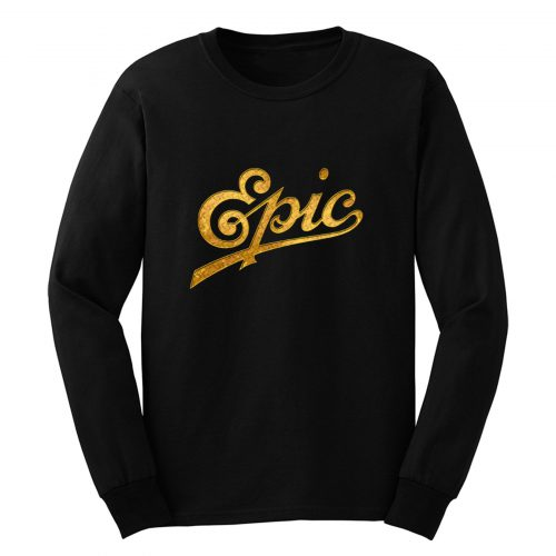 Vintage Epic Records Long Sleeve