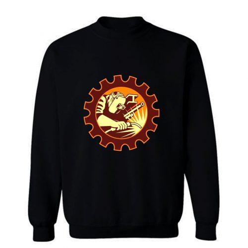 Welder Christmas Sweatshirt
